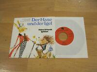 """7"""" Single Der Hase und der Igel Heinz Erhardt Igeleien Märchen Grimm Vinyl"""