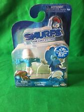 Smurfs Figures Clumsy And Smurflily New (L)