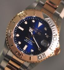 New Midsize Invicta Limited Cruiseline Blue Dial Two Tone Stainless Steel Watch