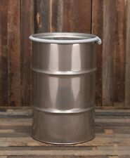 30 Gallon Stainless Drum Barrel Open Top