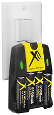 4AA Battery+AC/DC Charger Fujifilm FinePix AX350 AX355