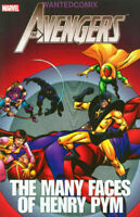 Avengers The Many Faces of Henry Pym Marvel TPB  Ant-Man Yellowjacket NM