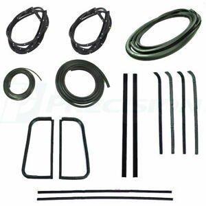 1955 1956 1957 1958 1959 Chevrolet GMC Truck Complete Cab Weatherstrip Seal Kit