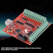 CNC USB MACH3 100Khz Tarjeta Controlador de Movimiento Breakout Board Grabado