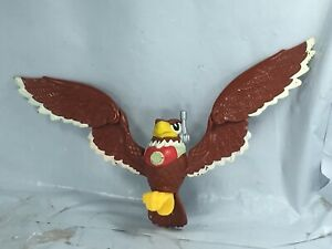 Rare VINTAGE 1999 Brown Bird 3.5 in. ACTION FIGURE RESCUE HEROES FISHER-PRICE FS
