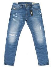 Diesel Mens Slim Fit Vintage Look Stretch Jeans -Thavar R8F60 - RRP*230€
