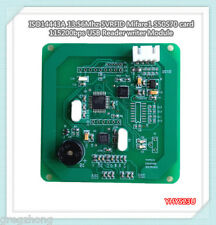 ISO14443A 13.56Mhz 5VRFID Mifare1 S50S70 card 115200bps USB Reader writer Module