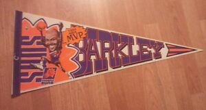 NBA Suns 1993 NBA MVP#34 Charles Barkley Photo Pennant