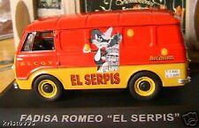 Fadisa romeo el serpis Alcoy ixo altaya 1/43 spania new