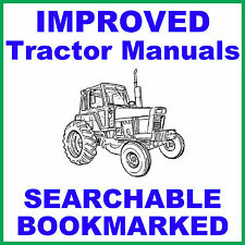 IH International Case 274 & 284 Tractor Workshop Service Repair Manual on a CD