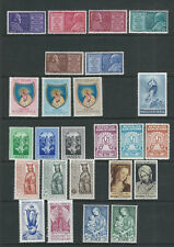 WORLDWIDE 1954 INTERNATIONAL MARIAN YEAR 12 complete sets VF MNH
