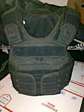 FEMALE medium Body Armor Bullet Proof Vest With Plates / panels level IIIA+spike