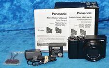 Panasonic LUMIX ZS100 - 20.1 MP UHD 4K Digital Camera Black 3