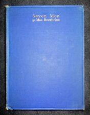 Max Beerbohm-Seven Men-1st Edition Heinemann Printing London 1919 VG condition