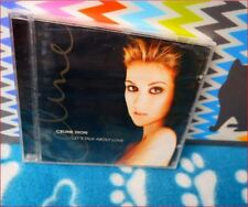 """Celine Dion: New sealed Freepost """"Let's Talk About Love"""" CD  My Heart Will Go On"""
