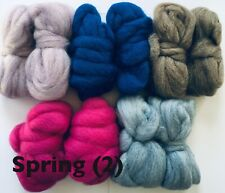 craft spinning roving wool fiber