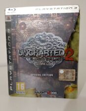 UNCHARTED 2 SPECIAL EDITION COLLECTOR PS3  ITALIANO QUASI NUOVO PLAYSTATION 3