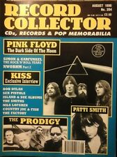 RECORD COLLECTOR AUG 1996 NO.204 PINK FLOYD PATTI SMITH KISS PRODIGY EX
