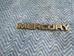 NEW 1987 1988 1989 MERCURY TRACER REAR HATCH EMBLEM E7GZ-6142528-G NOS FORD #15