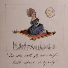 Handwritten Children's Book Manuscript Illustrated Short Stories Fairy Tales