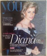 Princess Diana You Magazine UK Issue 12 Page Special Fashion Dresses