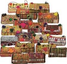 10 piece wholesale Vintage Tribal Banjara Clutch Messenger Bags Purse