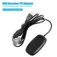 PC Wireless Controller Gaming Receiver Adapter Cable for Xbox 360 Game Handle