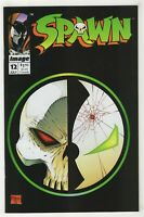Spawn #12 (Jul 1993, Image) [Bound-In {Rob Liefeld} Poster] Todd McFarlane -v