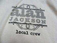 Alan Jackson Local Crew Concert Tour (2Xl) T-Shirt