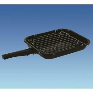 Caravan Motorhome Oven Grill Pan With Removable Handle And Includes Pan Trivit