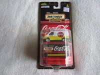 Mattel:  1998 Matchbox Coca-Cola:  1955 Ford Transit Van NIP