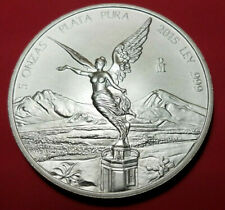 5 Oz. Mexican Silver Libertad BU 2015 (only 9,500 minted)