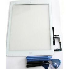 "Vitre tactile blanche pour iPad 5e 9,7"" A1822-1823 iPad Air"