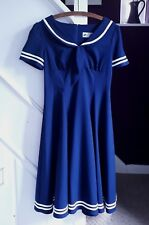 Hell Bunny Vixen Sailor Dress, Size S, New with tags, Unworn