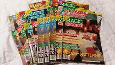 Magic Crochet Magazine Issues 74 to 94