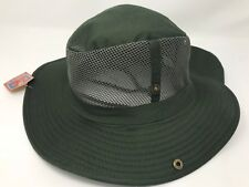 Boonies Sun Hat Fishing Army Military Hiking Snap Brim Neck Cover Bucket  Cap L