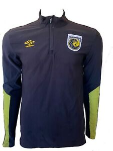Central Coast Mariners A League Soccer Mens Long Sleeve Top Size S