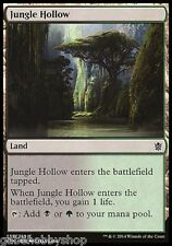JUNGLE HOLLOW Khans of Tarkir Magic The Gathering MTG cards (GH)
