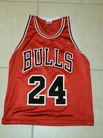 Vtg. SGA Chicago Bulls Tyrus Thomas #24 Youth Jersey 18-20
