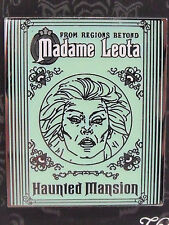New 2014 Disney Haunted Mansion Madame Leota Tombstone Glow in Dark Trading Pin