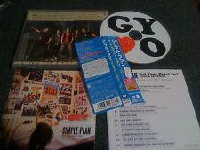 SIMPLE PLAN / get your heart on /JAPAN LTD CD OBI tour edit