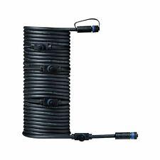 Paulmann 93930 Outdoor Plug & Shine Câble 10m 1 in-5 out, IP68, 2x1,5qmm H07RN-F
