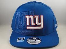 NFL New York Giants Reebok Size L/XL Flex Hat Cap Blue