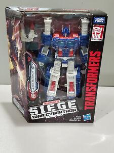 Transformers Generations War Cybertron WFC-S13 Siege Leader Class Ultra Magnus