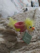 """Vintage Spring Easter Egg Cup 3"""" Cute Chick - Seasons of Cannon Falls"""