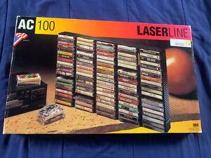LASERLINE LASER LINE 100 CASSETTE TAPE STORAGE RACK HOLDER AC100
