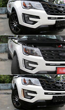 For Ford Explorer 2016-2017 LED DRL Daytime Running Driving Light With Turn
