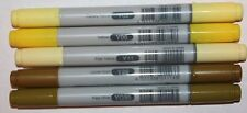 5 Copic CIAO Markers -PALE OLIVE & YELLOWS  Set