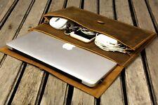 Handmade leather macbook case for 2019 macbook pro 13 15 / 2020 new macbook