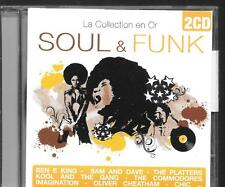 2 CD COMPIL 36 TITRES--SOUL & FUNK--E KING/PLATTERS/COMMODORES/IMAGINATION/CHIC